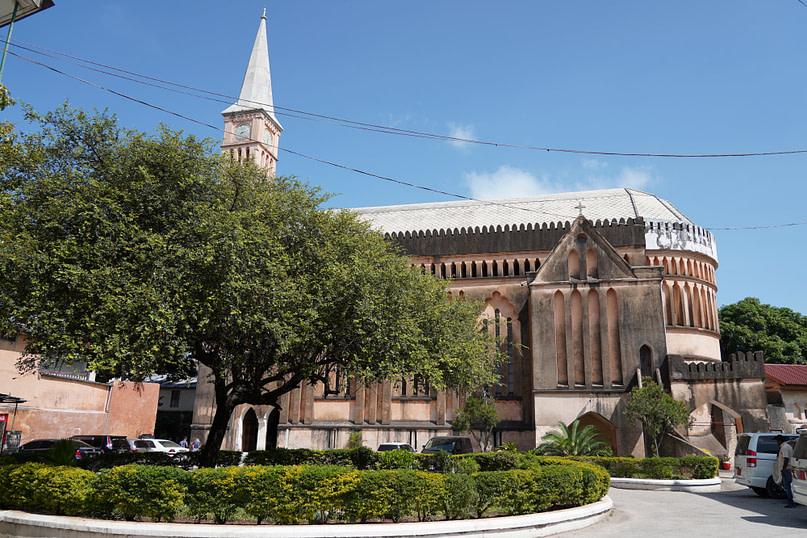 Sklavenmarkt Anglikanische Kirche