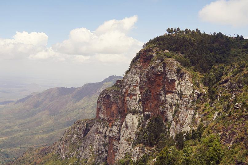 Blick auf Mambo View Point