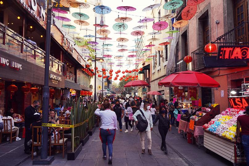 Mexico City Chinatown