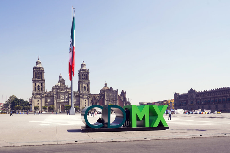 Mexico City Zocalo CDMX