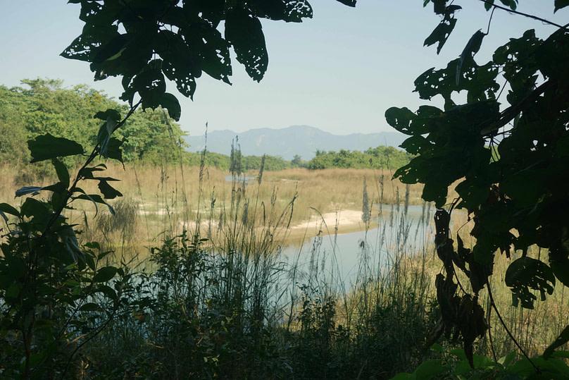 Bardia Nationalpark Blick auf Fluss