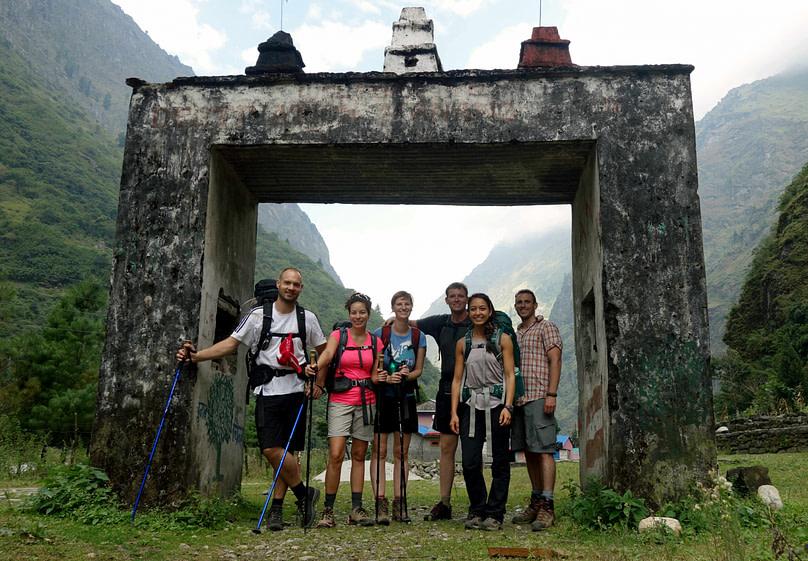 Annapurna Circuit Gruppenfoto
