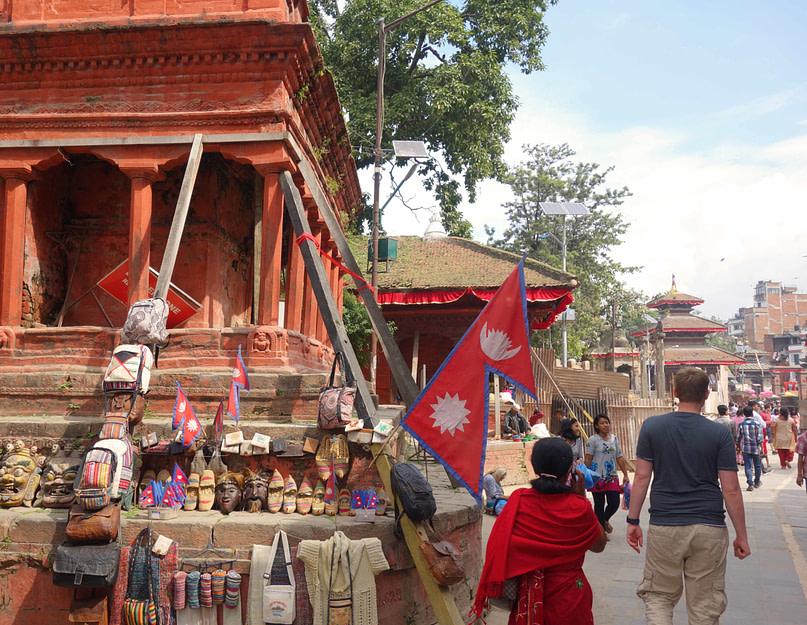 Kathmandu Durbar Square Matthias