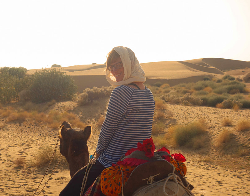 Jaisalmer Kamelsafari Franzi