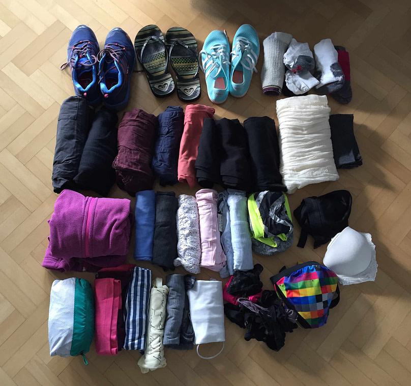 Packliste Kleidung Franzi