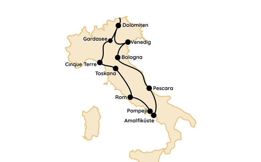 Italien Route Reisetipps